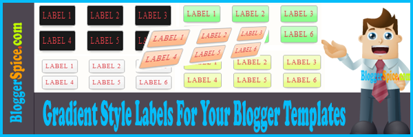 Blogger stylish labels